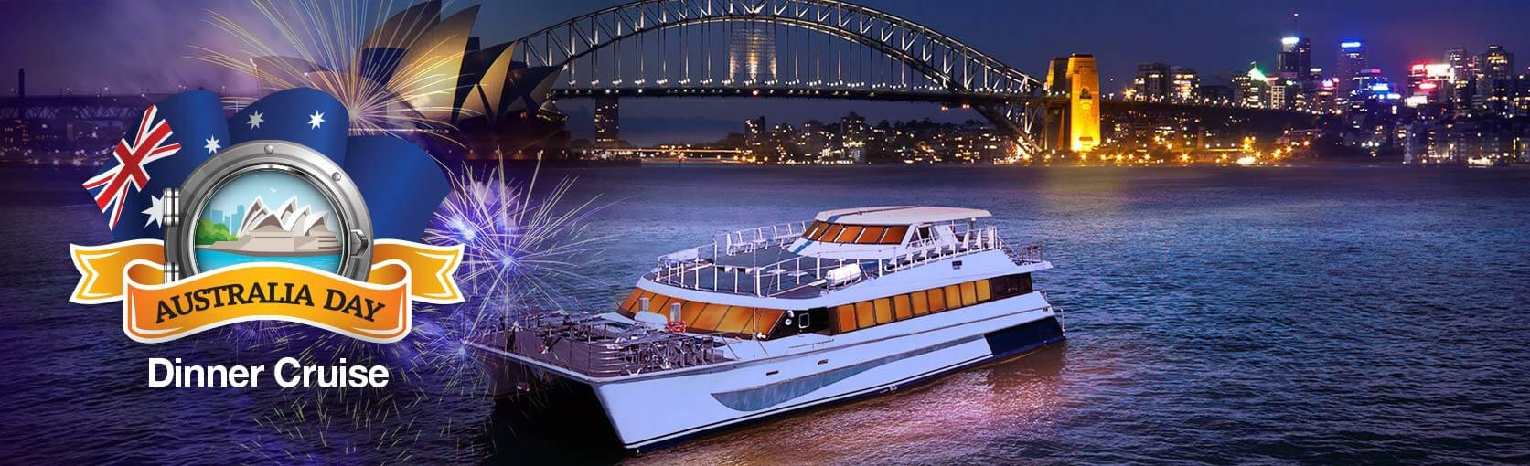 Australia Day Fireworks Buffet Dinner Cruise & Drinks