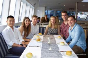 harbour cruise -lounge dining