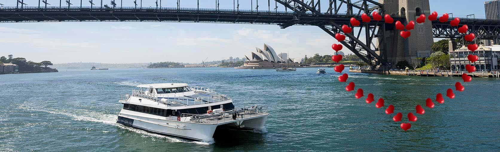 Valentines Day Cruise on Sydney Harbour