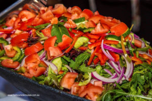 boat charter-menu-salad