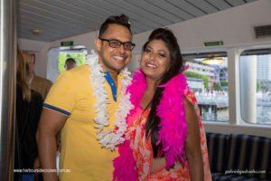 harbour cruise-couple-enjoying a photo