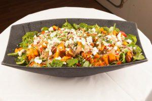 harbourside cruises - buffet - pumpkin salad