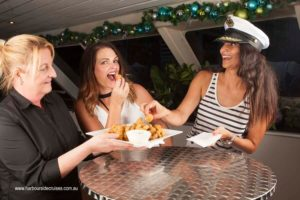 harbourside cruises- canapes