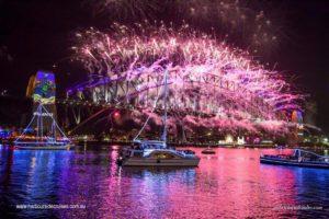 nye cruise fireworks- sydney harbour