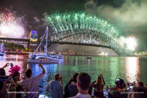 nye cruise- sydney fireworks