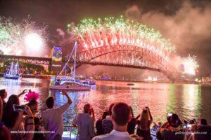 nye cruise-sydney harbour bridge