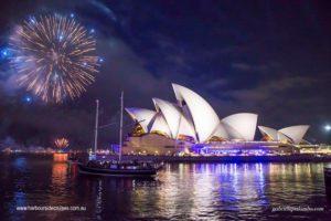 sydney opera house - fireworks