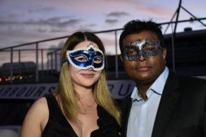 harbourside cruises masquerade couple