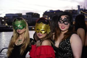 harbourside cruises masquerade party top deck